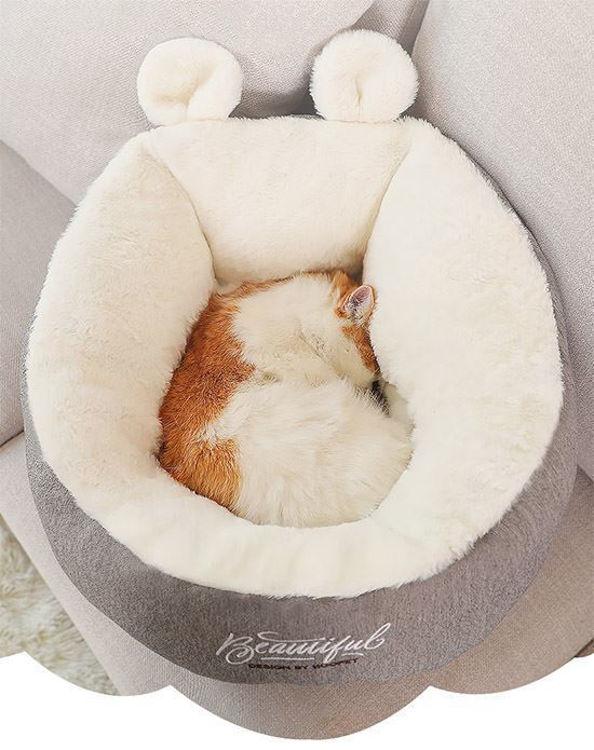 Cat Dog Warm Soft Bed