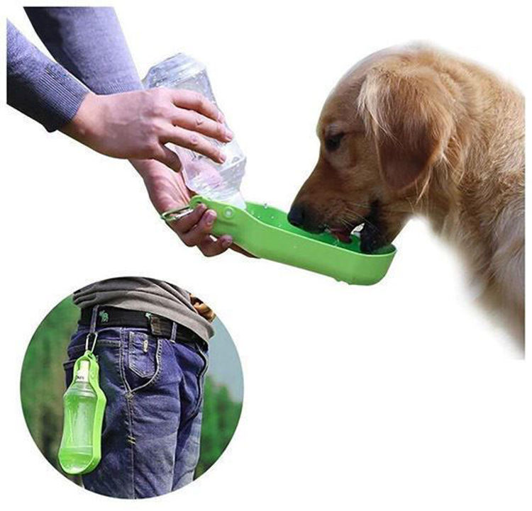 Dog Cat Outdoor Hiking Travel Water Bottle Dispenser