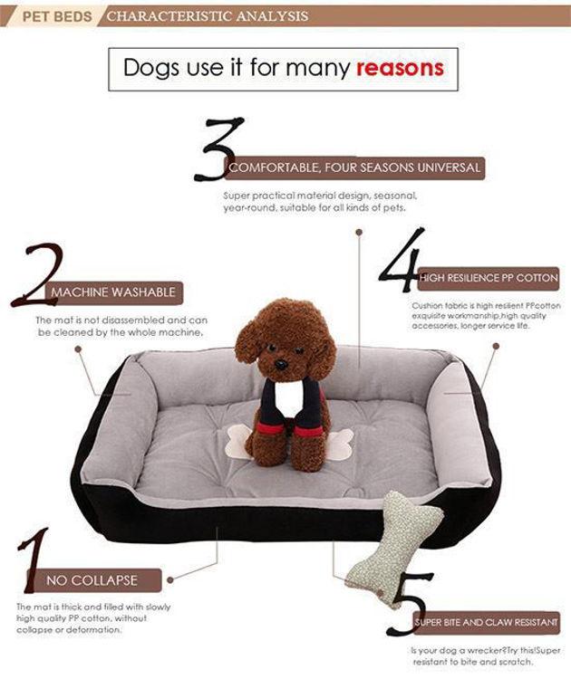 Dog Cat Soft Warm Bed Mat Washable