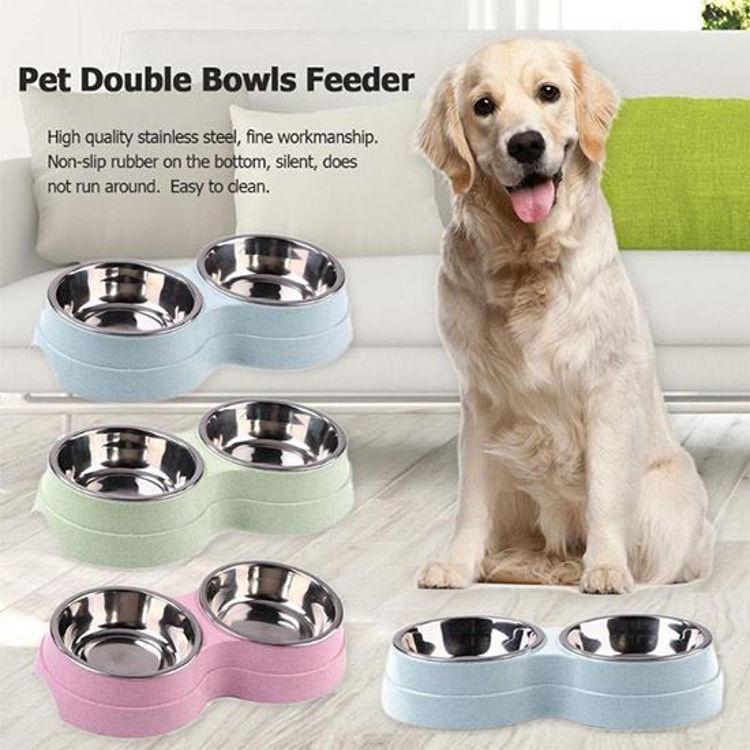 Dog Food And Water Bowl