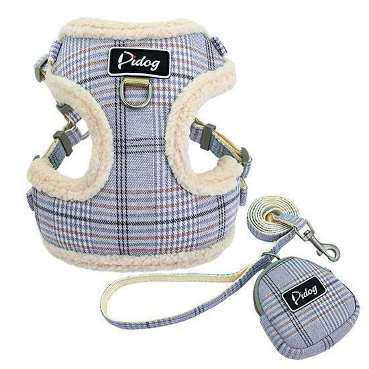 Dog Soft Harness Vest Leash
