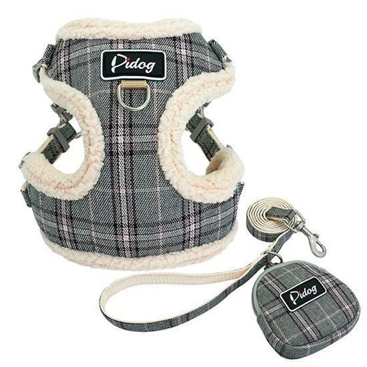 Dog Soft Harness Vest Leash
