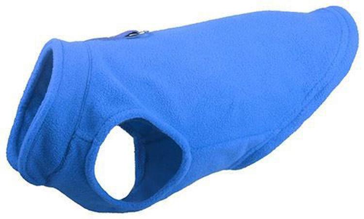 Dog Winter Soft Jacket Coat Vest Blue