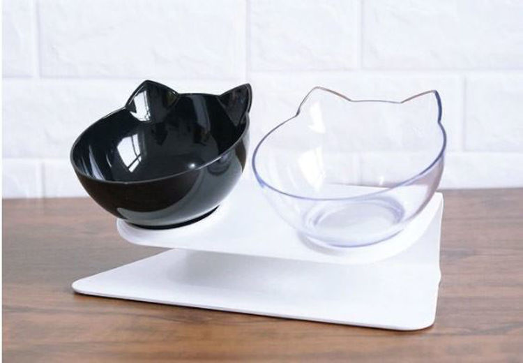 Non-slip Cat Food And Water Bowls